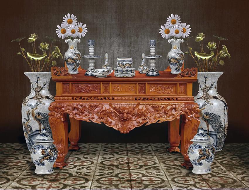 Các loại bàn thờ tổ tiên